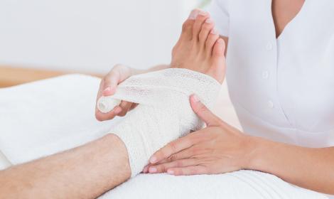 Imagem de Tratamento de Úlceras e Feridas